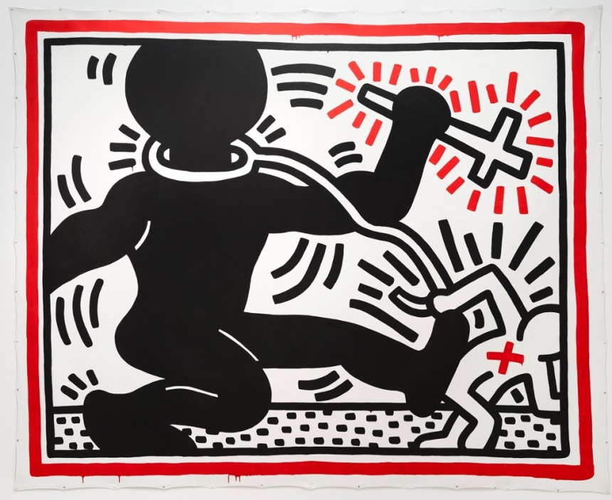 Untitled (Apartheid) Keith Haring