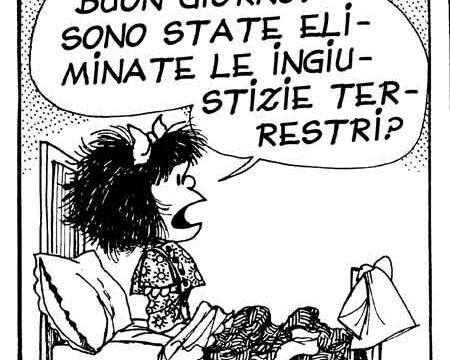 Quino e la sua Mafalda. Cinquant'anni d'ironia contro il potere