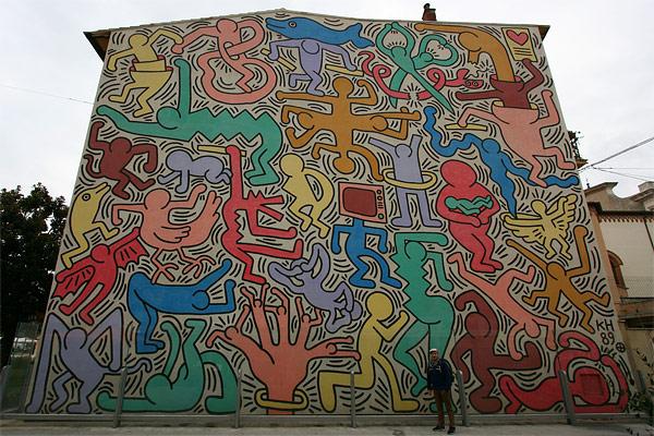 'Tutto mondo' Pisa Keith Haring