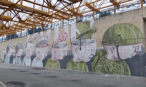 Blu e il messaggio della sua Street Art