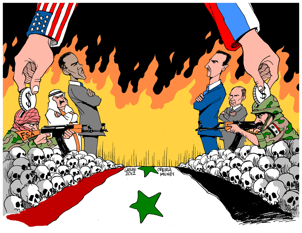 Syria Apotheosis of barbarism