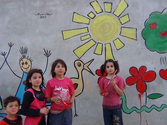 Painting Freedom Saraqeb 2013