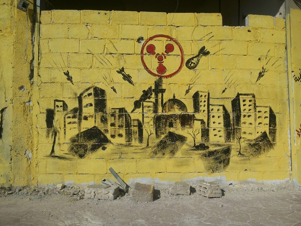 THE CREATIVE MEMORY OF THE SYRIAN REVOLUTION (Murals ...
