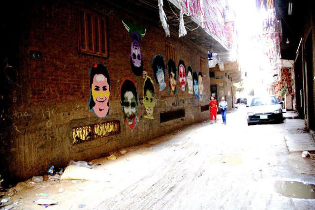 Graffiti for a Social Cause: Zeft, Nazeer, Nemo and Mona Lisa Brigades (by suzeeinthecity)