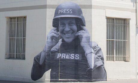 From an artist to a journalist: solidarity, Peter Greste