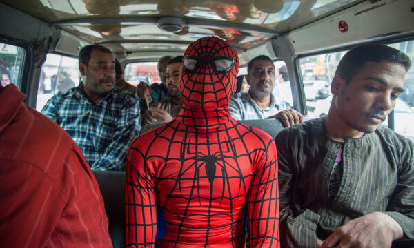 No power, great responsibility~ the Spider-Man of Cairo