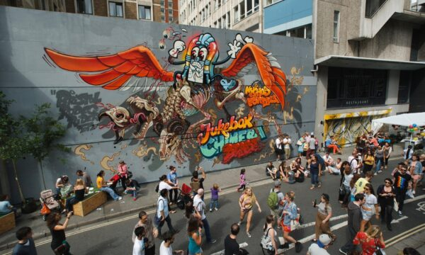 Is urban graffiti a force for good or evil?