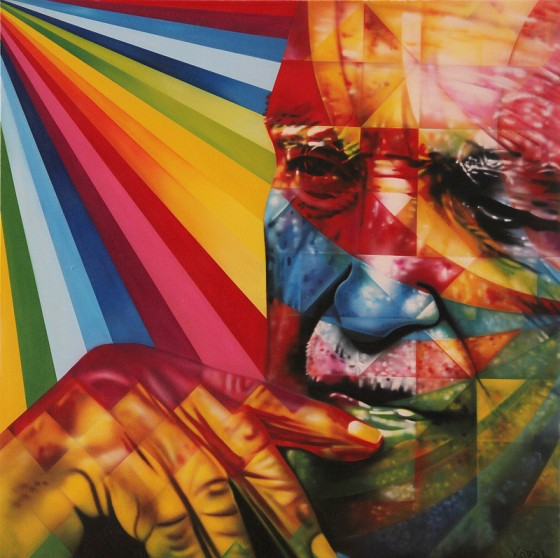 The big murals of eduardo kobra revolution art for Mural eduardo kobra