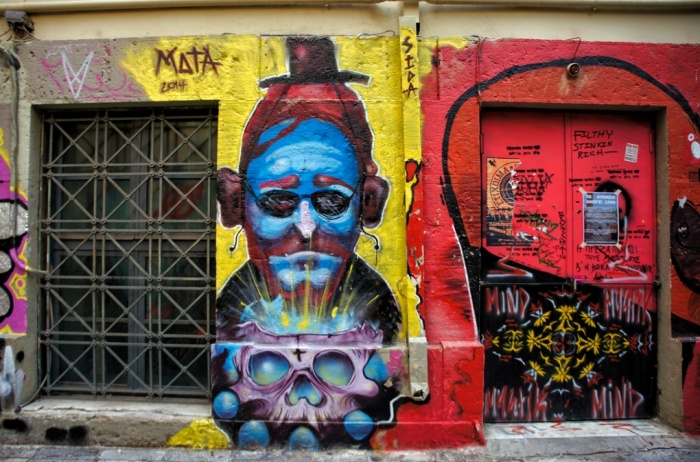An oracle for the future? Whatever is around the corner for Greece, it is clear that the talented street artists of Athens will continue their impressive work