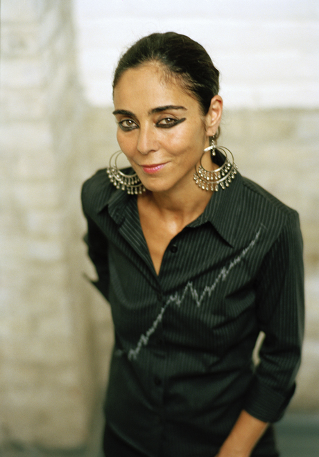 Shirin Neshat, portrait by Lina Bertucci By Art Radar