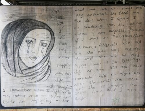 Life in limbo: street art tells stories of refugees and asylum seekers (by Royce Kurmelovs)