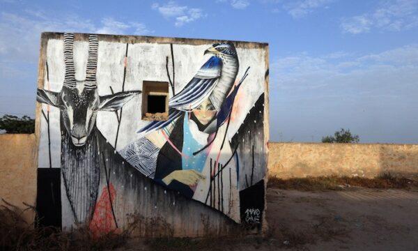 Beautiful street art project in Tunisie