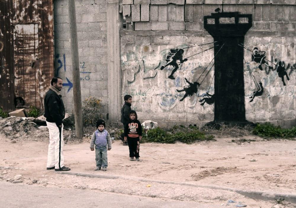 Bansky, Gaza