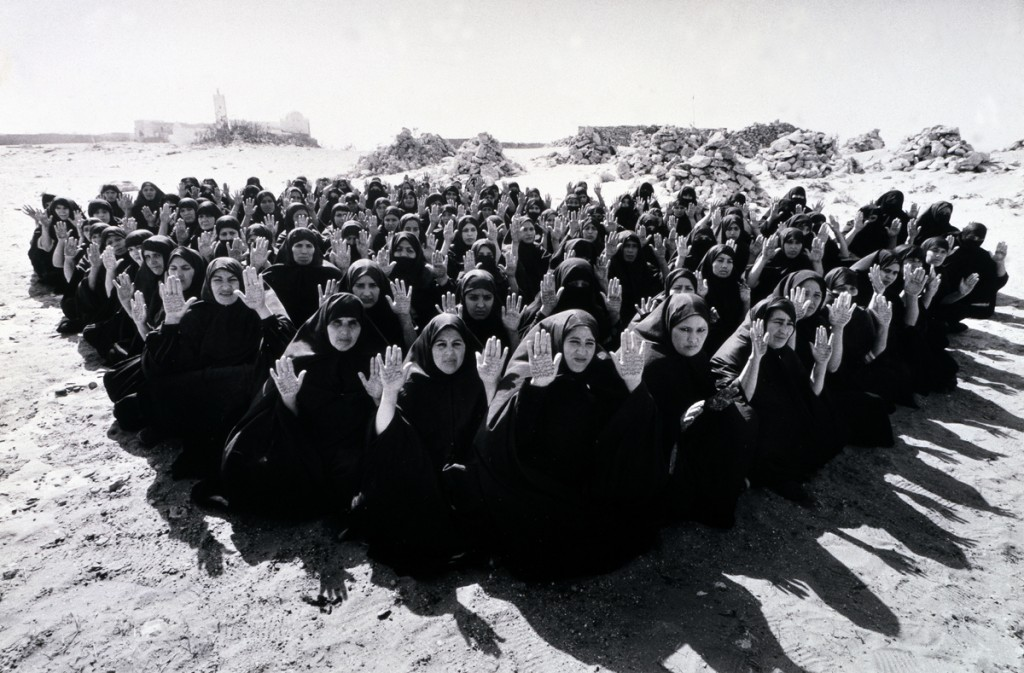 Shirin Neshat. Rapture Series, 1999. Photo: Larry Barns