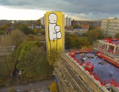 BIG MOTHER the tallest mural in UK
