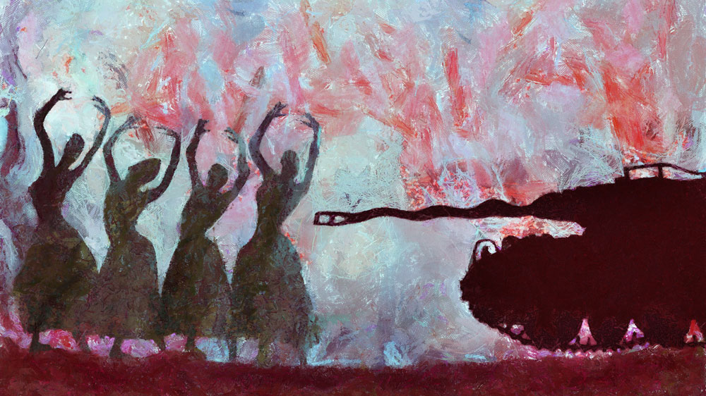 'Dancers and the dictator'-Wissam Al Jazairy