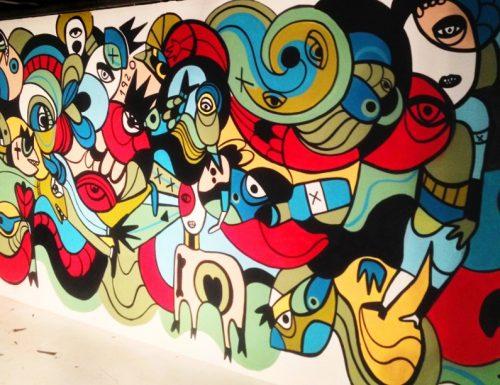 Female street artists take to Dubai's walls