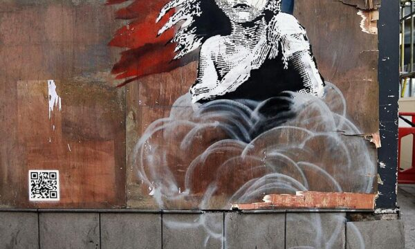 Banksy's refugee piece shows us how to protest – and grieve