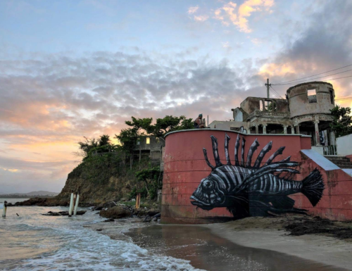 """""""#PRLOVE"""" and """"MANATEE"""" by ROA, in Puerto Rico"""